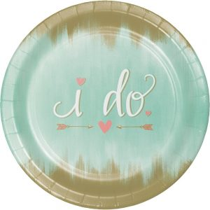 24 Mint To Be 10.25u2033 inches Paper Premium Dinner Plates for Bridal Shower or Wedding Reception  sc 1 st  Just For My Party & Paper Plates u2013 Just For My Party